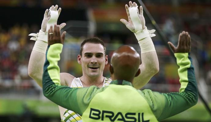Arthur Zanetti - medalha de prata nas argolas - Rio 2016 (Foto: Reuters)