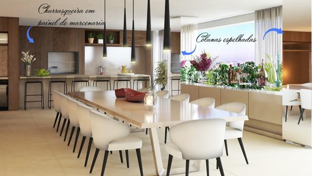 Quem decora por Camila Klein 3 ideias de decoraç u00e3o do espaço gourmet Quem Casa dos Famosos -> Ideias De Decoração Para Espaço Gourmet