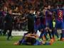 """Herói improvável, Sergi Roberto exalta a torcida do Barça: """"Foram dez a mais"""""""