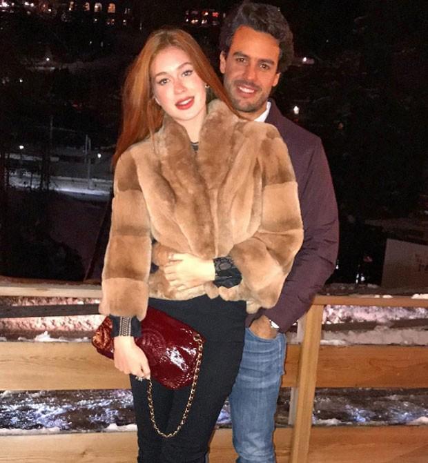 Marina Ruy Barbosa e noivo (Foto: Reprodução)