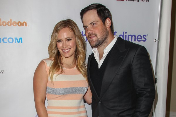 Hilary Duff e Mike Comrie (Foto: Getty Images)