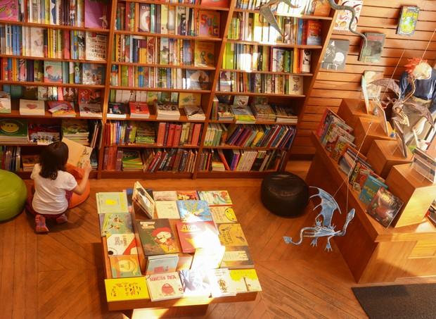 livraria  (Foto: Divulgação/ Adriana Valentin )