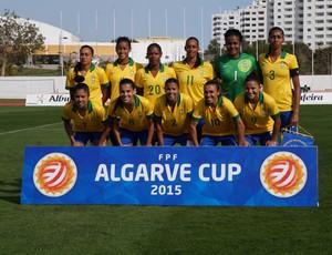 Seleção feminina na Copa Algarve