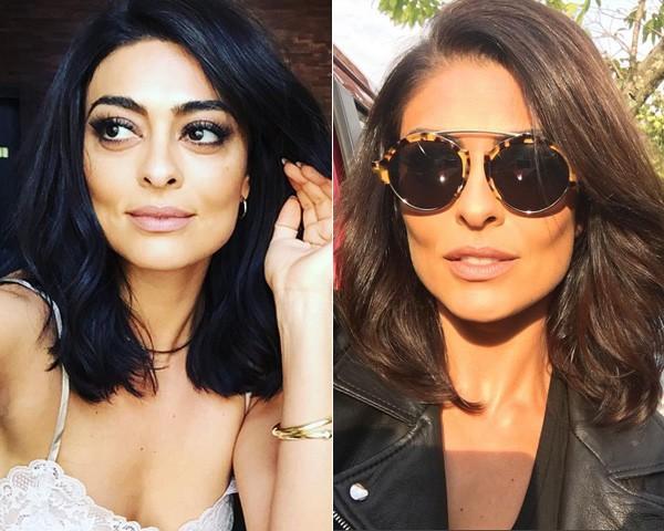 Juliana Paes antes e depois (Foto: Reprodução/Instagram)
