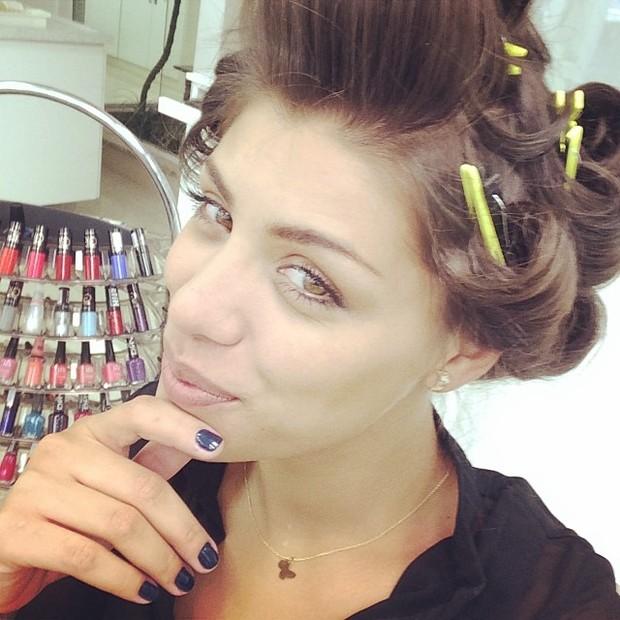 Franciele Almeida posa para o Paparazzo (Foto: Instagram / Reprodução)