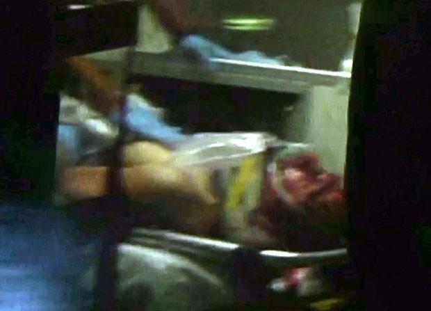 Dzhokhar A. Tsarnaev foi levado ao Hospital Mount Auburn, em Cambridge. (Foto: Robert Ray/AP)
