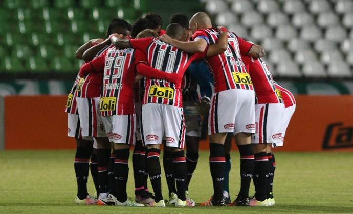 Time São Paulo Coritiba (Foto: Rubens Chiri - site oficial do SPFC)