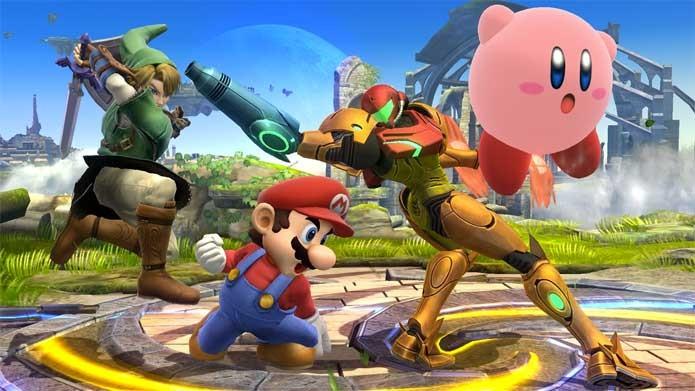 Super Smash Bros traz encontro de Mario com vários personagens (Foto: Divulgação/Nintendo)