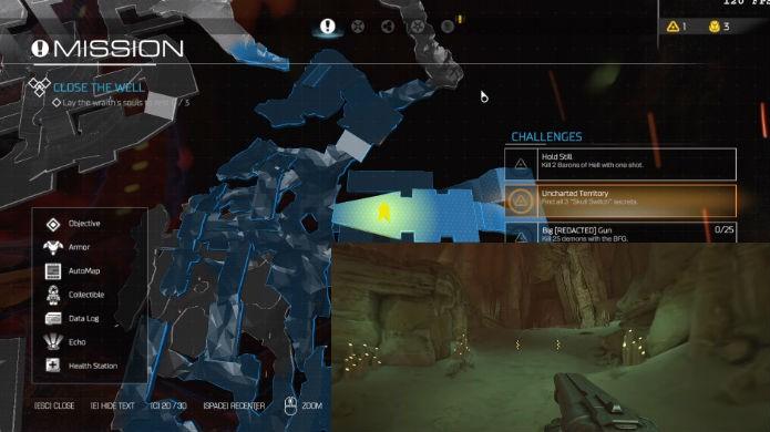 Doom: veja a localização exata da décima terceira alavanca de mapa clássico (Foto: Reprodução/Thomas Schulze)