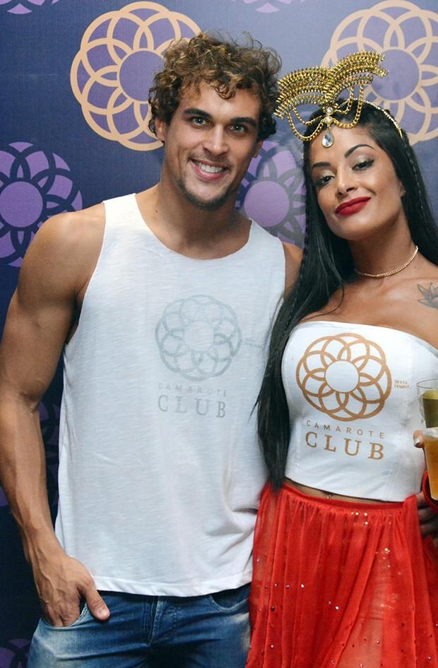 Aline Riscado e Felipe Roque (Foto: Júnior Improta/Ag Haack)