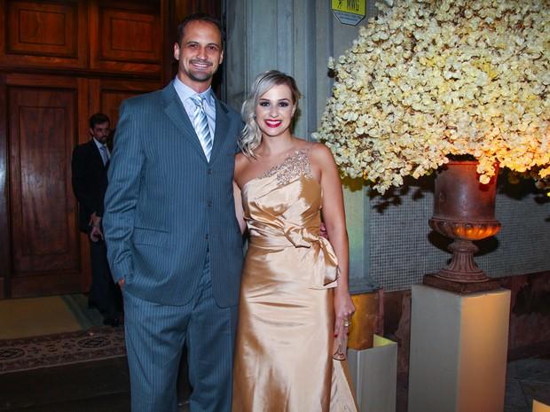 Lipe em casamento em São Paulo (Foto: Manuela Scarpa/ Foto Rio News)