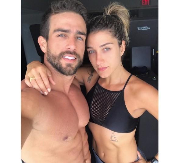 Casal está em Miami (Foto: Instagram)