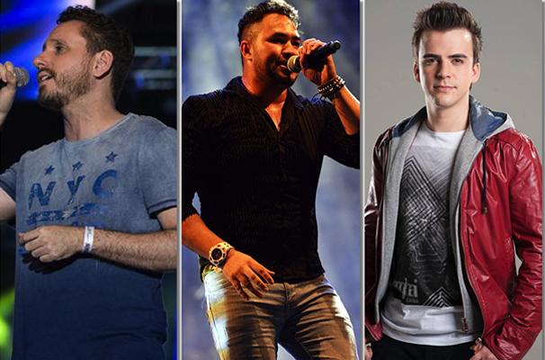 Leonardo Gonçalves, Marcos Nunes e DJ PV são algumas das atrações deste sábado. (Foto: Divulgação)