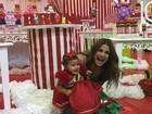 Nívea Stelmann comemora aniversário de 1 ano da filha caçula