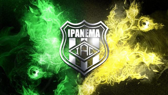 Escudo do Ipanema, criado pelo designer Tom Carvalho (Foto: Tom Carvalho/Arquivo Pessoal)