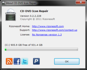 CD DVD Icon Repair