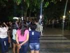 'Estamos com medo', diz aluno da Uespi em protesto por segurança