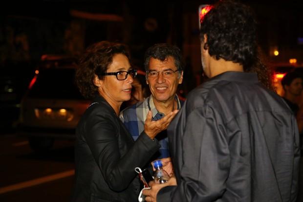 Andrea Beltrão e Paulo Betty (Foto: Marcello Sá Barretto / AgNews)