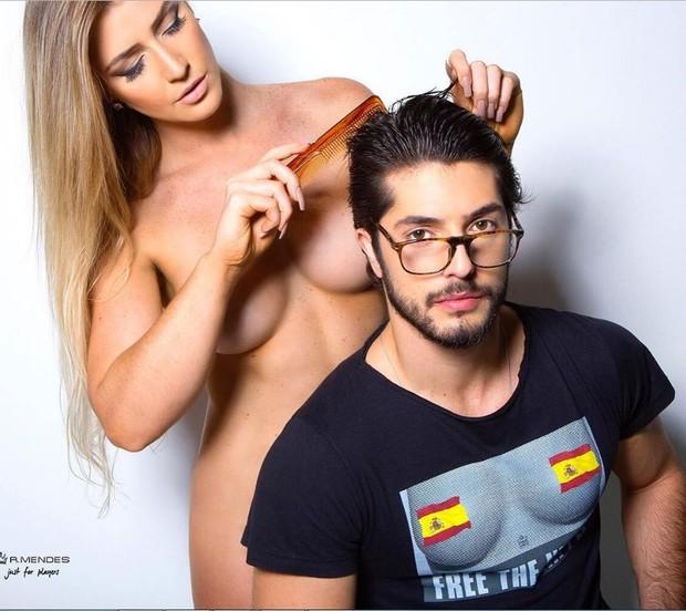 Enrico Celico causa polêmica na web (Foto: Reprodução/Instagram)