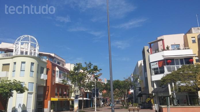 Foto registrada pela câmera do LG G3, em dia de sol (Foto: Isadora Díaz/TechTudo)