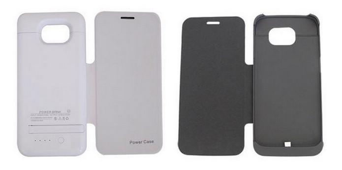 Capa Bateria Flip Cover Samsung Galaxy S6 Edge (Foto: Divulgação/Walmart)