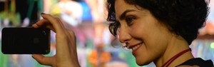 'Festival de Parintins é grandioso', define atriz Letícia Sabatella (Marina Souza/G1 AM)