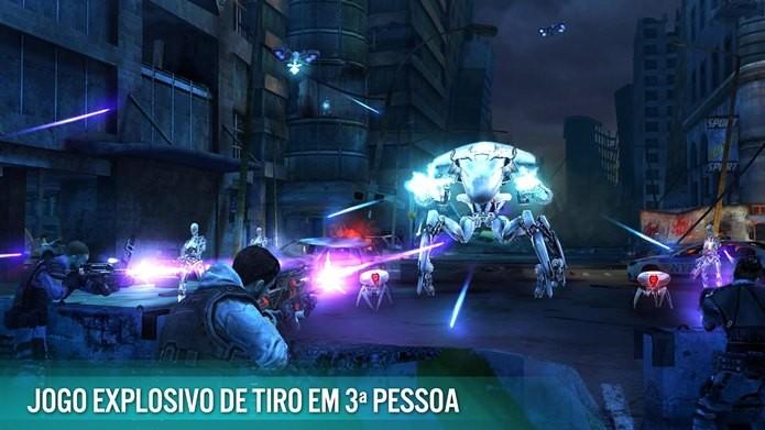 Novo jogo do filme Exterminador do Futuro tem gráficos incríveis e muita ação (Foto: Divulgação)