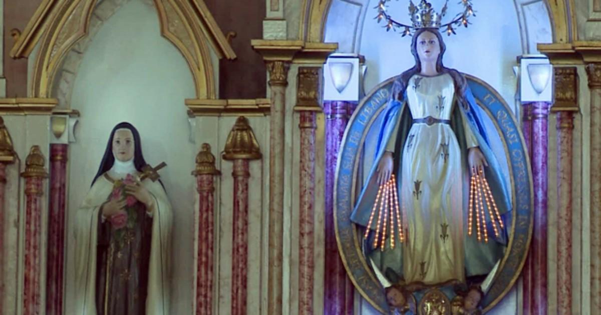 Cerca de 15 mil devotos passam por santuário em feriado de Monte ... - Globo.com