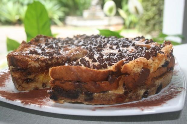 Torta de panetone (Foto: Divulgação)