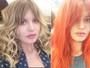 Georgia May Jagger muda o visual e aparece com os cabelos alaranjados