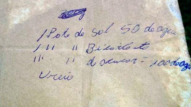 De acordo com o MP, fórmula encontrada era usada para adulterar leite (Foto: Divulgação/Ministério Público)