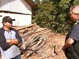 Dono da fazenda disse que não sabia das irregularidades (Foto: Eder Ribeiro/EPTV)