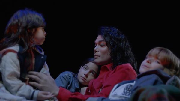 O ator Navi na cinebiografia do cantor Michael Jackson (1958-2009) (Foto: Reprodução)