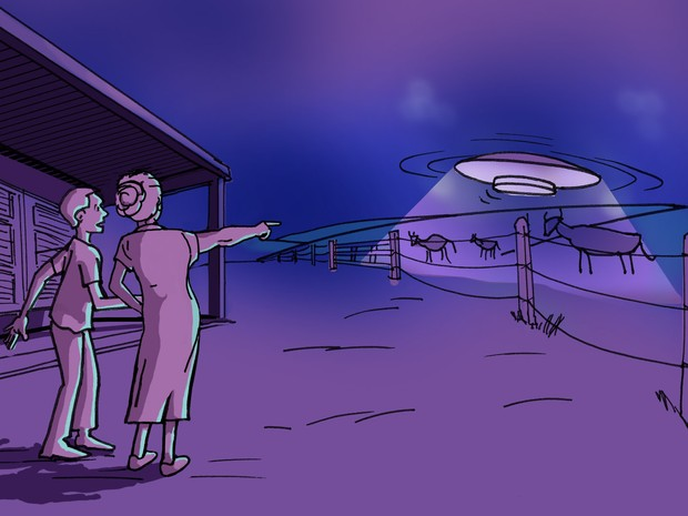 Ilustração casal fazenda (Foto: Renato Munhoz / Computação Gráfica EPTV)