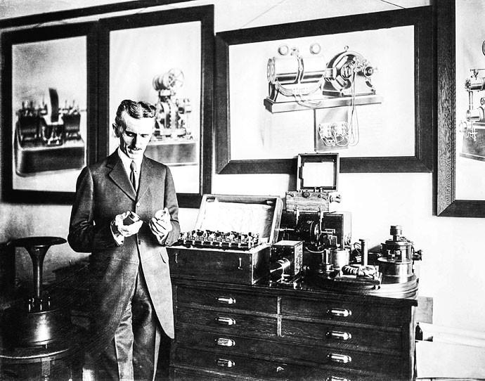 DESCUIDADO:Ele criava dezenas de invenções em seu laboratório, mas muitas ficavam sem registro (Foto:  )