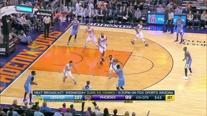Melhores momentos de Denver Nuggets 120 x 114 Phoenix Suns pela NBA