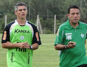 Rodrigo Heffner, lateral América-MG (Foto: Leonardo Simonini/Globoesporte.com)