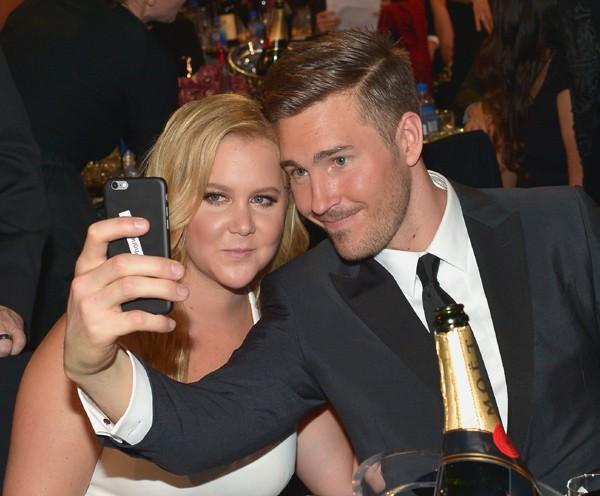 Amy Schumer e Ben Hanisch (Foto: Getty Images)