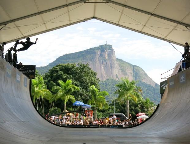 Público etapa carioca do Mundial de Skate Vertical (Foto: Ana Carolina Fontes)