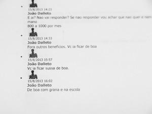 Conversas entre educador de Araraquara e adolescente foram mantidas desde agosto (Foto: Deivide Leme/Tribuna Impressa)