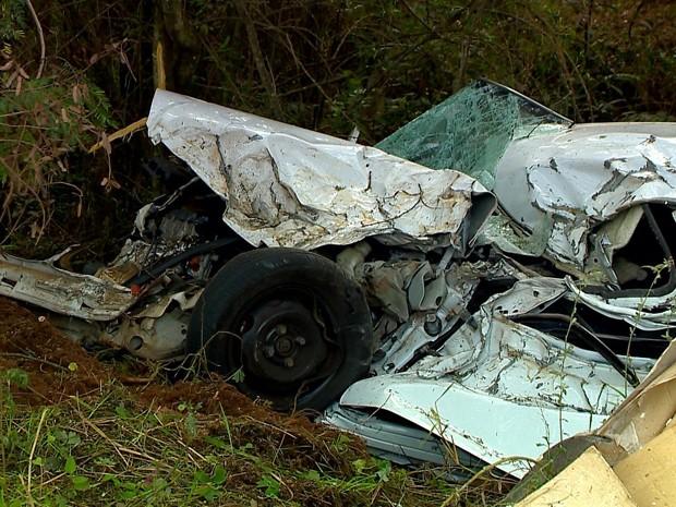Homem morreu após acidente em Passo Fundo (Foto: Reprodução/RBS TV)