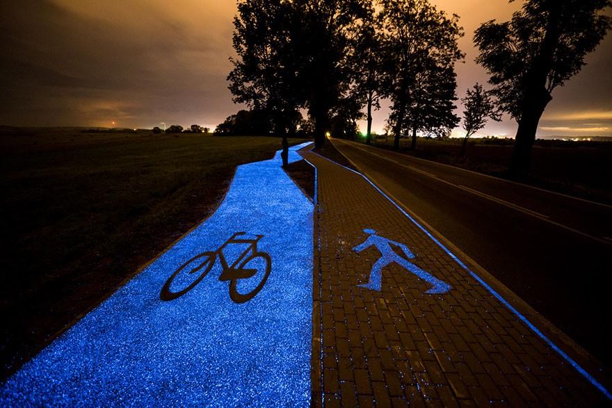 Material sintético pode emitir brilho por até 10 horas (Foto: divulgação)