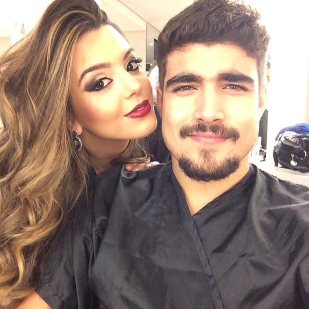 Caio Castro e Giovanna Lancellotti (Foto: Reprodução/Instagram)