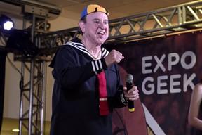 Carlos Vilhagrán, Expo Geek RT (Foto: Roberto Teixeira / EGO)