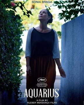 Pôster de divulgação do filme Aquarius (Foto: Reprodução/Instagram)