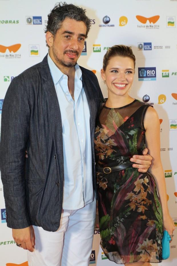 Bruna Linzmeyer e Michel Melamed (Foto: Anderson Borde/Felipe Assumpção/AgNews)