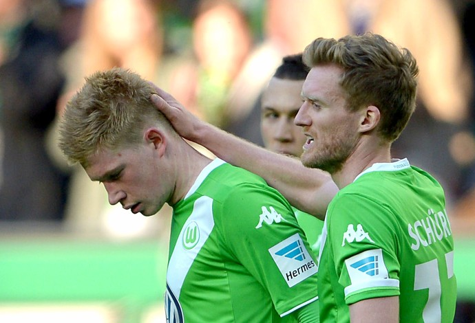 De Bruyne Wolfsburg Schalke (Foto: EFE)