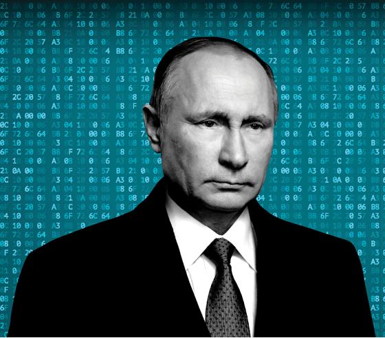 A invisível e poderosa arma de Putin (Foto: Arte/Época)
