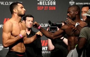 Gunnar Nelson se machuca e Mousasi x Hall é luta principal do UFC Belfast