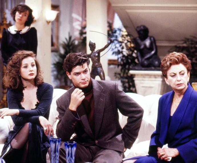 Em 1993, Fábio Assunção esteve no elenco de 'Sonho Meu' (Foto: Cedoc / TV Globo)